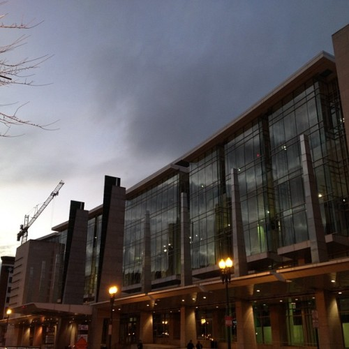 #DC Convention Center #nofilter (Taken with instagram)