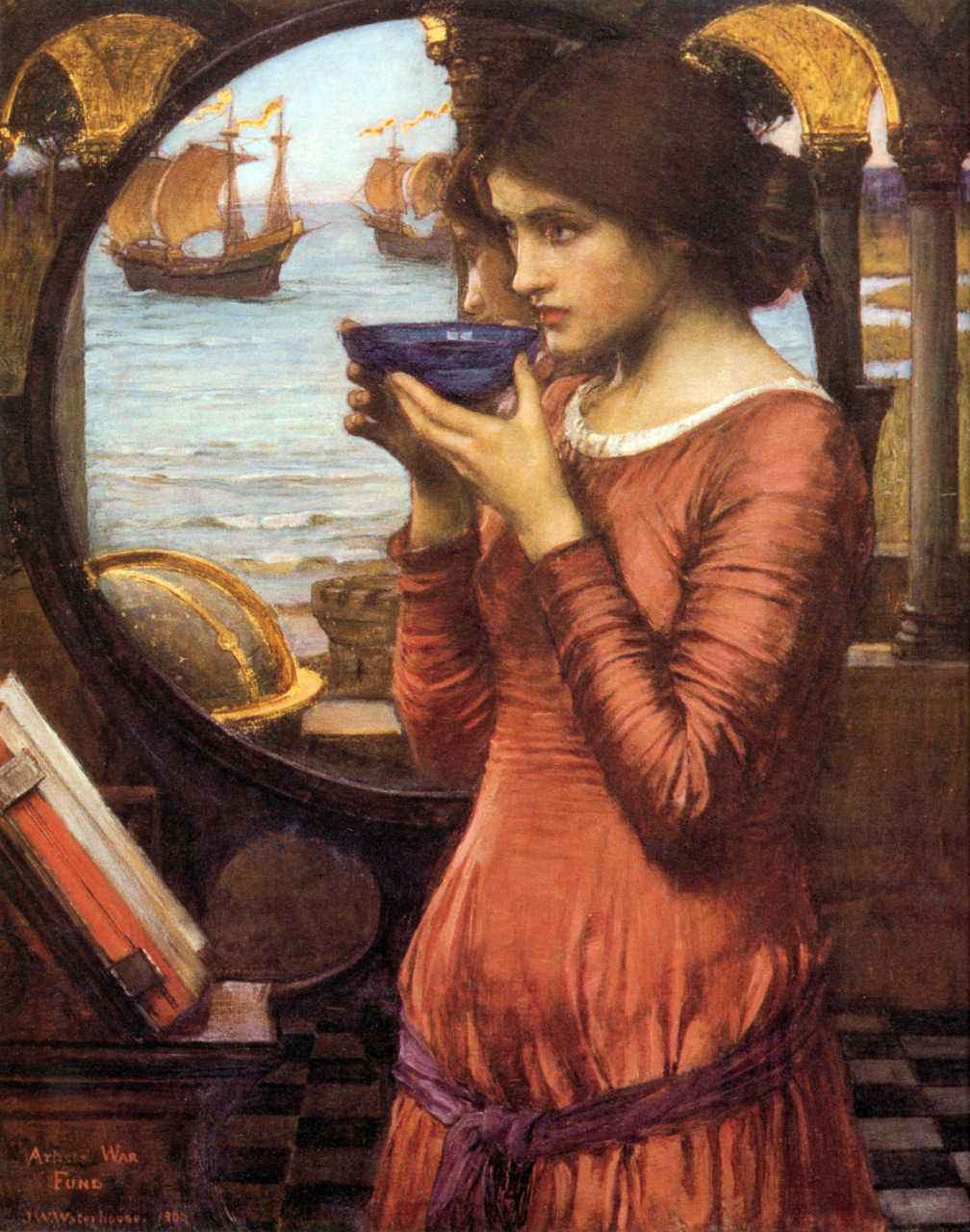 DestinyJ. W. Waterhouse1900