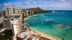 This is Waikiki beach. This is where I am going for vacation. I cannot even begin to express my excitement.