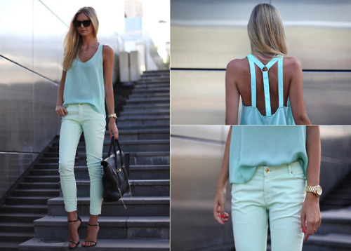 Lookbook pick of the day … all I can say is wow. I wish I could pull off those jeans.