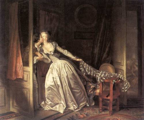 Jean Fragonard: The Stolen Kiss