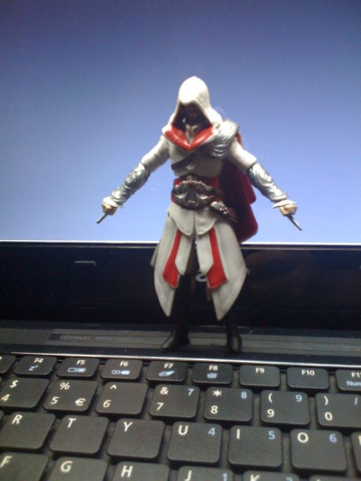My little Ezio.