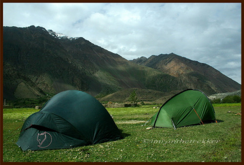 Camping at 3100 m by imranthetrekker (chitralguy) ready for adventure on Flickr. Pechus (Hot Springs), Boroghil valley, Chitral -Backpacking, Hiking, & Camping Gear