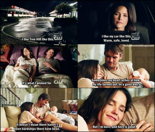 One Tree Hill 9x01 Know This, We've Noticed