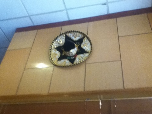 mexican hat in a chinese resturant -_-