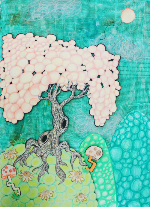 katiehorrible:  Balloon Tree 2010