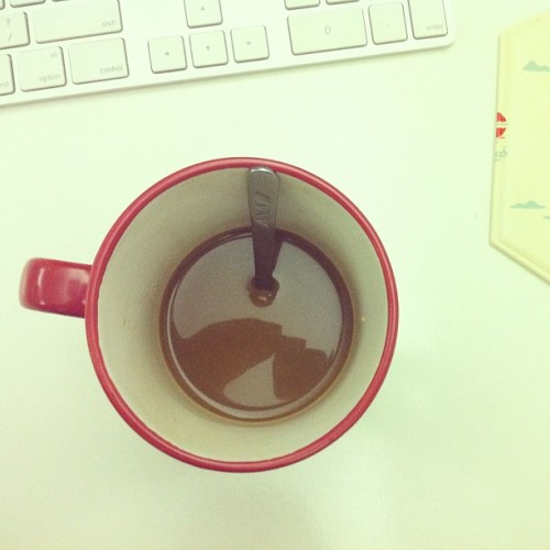Dear Friday, I've had my coffee. You can officially start now.  xoxo Nikki (Taken with instagram)