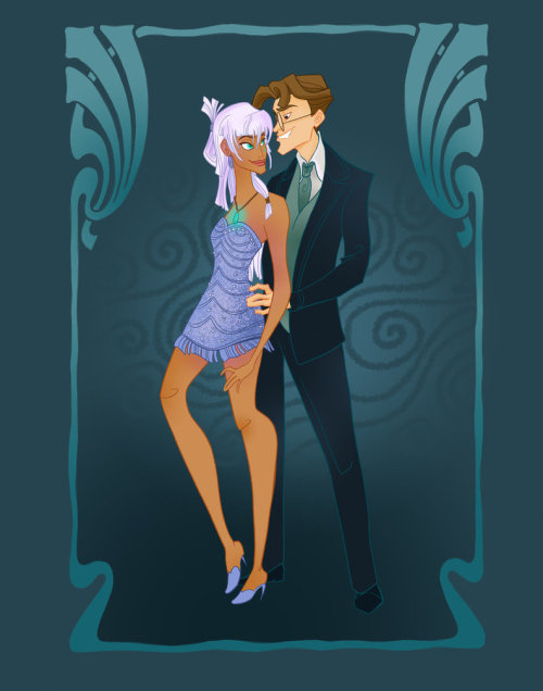 waltdisneyw0rld:  Disney Prom by: spicysteweddemon on deviantART