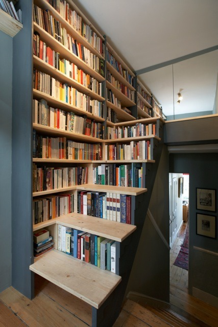 bookshelfporn:  Submitted by Rupert Kay.   Sweet love—