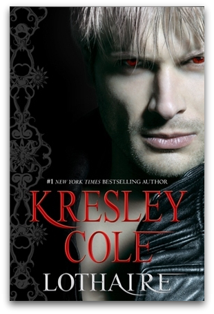 Lothaire, by Kresley Cole Holy smokes. This is going to be a disgustingly fangirlish and adoring review, so gird your loins. The thing about series books is you sort of have to figure out if you're loving a book because it's part of an ongoing story that you love, or if it's actually a great book. This is both. Let me just lay it out for you: Lothaire is one of the best paranormal romances I can remember reading. To be fair, that's in part because Kresley Cole's spent ten or so books building such a fascinating and charismatic character. I know some of you have said that KC's heroes don't do it for you (… this is not a problem I experience personally), but come on. This is LOTHAIRE. He's the famously nasty and arrogant vampire with all the good one-liners. He's mysterious, fun, and dude. DUDE. Lothaire is unbelievably sexy. The biggest question about this book was not whether or not Lothaire was going to be great, but whether or not Kresley Cole could find a heroine who could match him. She did it. And Kresley Cole managed this with a character who was a young mortal girl who'd grown up in backwoods Appalachia. Okay, to be fair, she's been hosting a seriously evil bitch goddess for a year when we meet her, but STILL. Ellie herself is so smart, observant, and witty (without being Mary Sue Mountain) that she is more than capable of going toe to toe with the vamp legend himself. In every other paranormal romance I've read in which a younger girl is paired with an ancient-as-dirt dude (including the first IAD book, A Hunger Like No Other), it's ended up being weird, a little creepy, and totally unbalanced, no matter how many compulsory scenes in which Little Red Riding Hood stands up to the Big Bad Wolf. It's not often that I'm sorry to finish a book, but you guys, I don't know what to do with myself. I did my best to slow down and read this book over a few days instead of over a few hours, and even though it's long as fuck, I loved every single minute of it. The last two IAD books were way too angsty and filled with BRVTAL TORTVRE, and this was an amazing change of pace. Even though Lothaire and Elizabeth were facing some pretty serious obstacles, every page was fun. By the end, the relationship between the two of them was so sweet and believable that I was holding back sniffles on the train (shut up, I'm over emotional this week). I DO think that you'd appreciate this book best if you've read all the preceding books in the series, but this is absolutely my favorite one. And yes, it has all your old favorites. Hag (last seen in Omort's basement), Regin, Emma, Mariketa, and, of course. NIX.