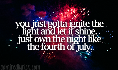 Fireworks - Katy Perry
