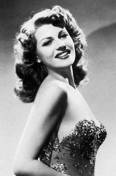 Rita for You Were Never Lovelier, 1942.