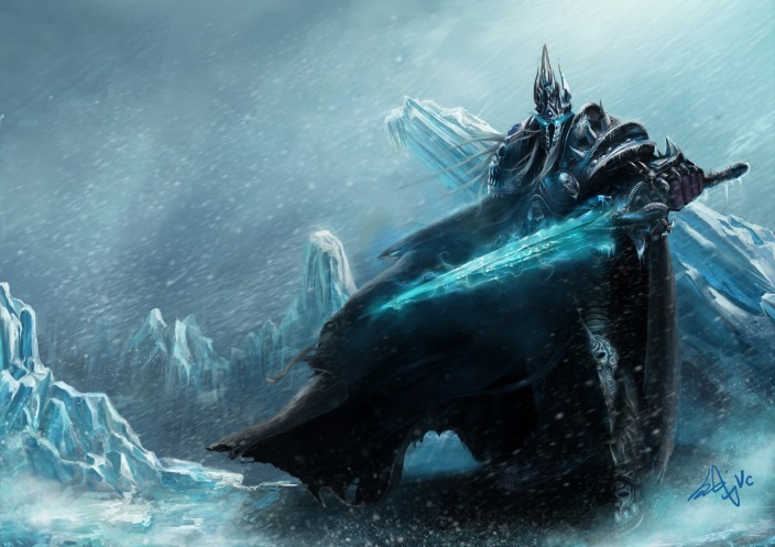 geeksngamers:  The Lich King - by Winx