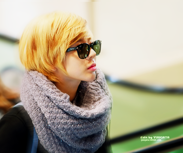 [EDIT] SNSD'S SUNNY - At Gimpo Airport  Edit by me Photo by Helianthu