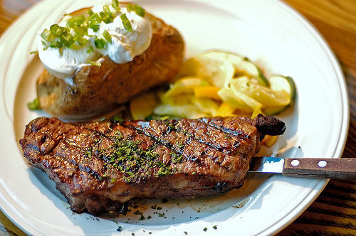 Steak and Baked Potato