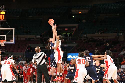 UConn Women's Basketball vs. St. John's (by Kevin Coles)