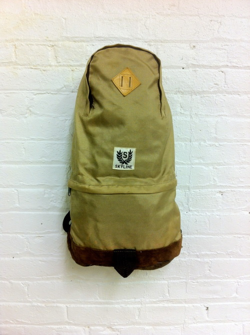 (capsule) Preview: Wooden Sleepers Vintage Skyline Daypack