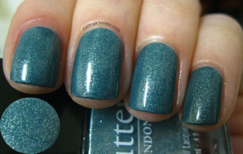 butter london - victoriana EEEEEK, this is super pretty! and that's all i have to say about that!