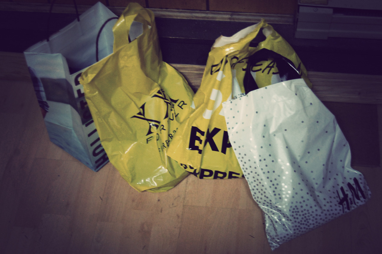 I shop too much..