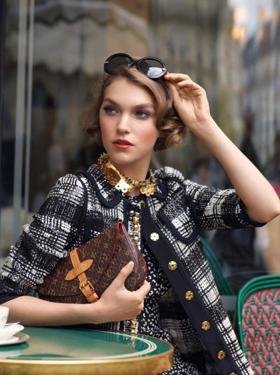 Arizona Muse for Louis Vuitton Resort 2012 campaign. Gorgeous!  via vogueandcoffee