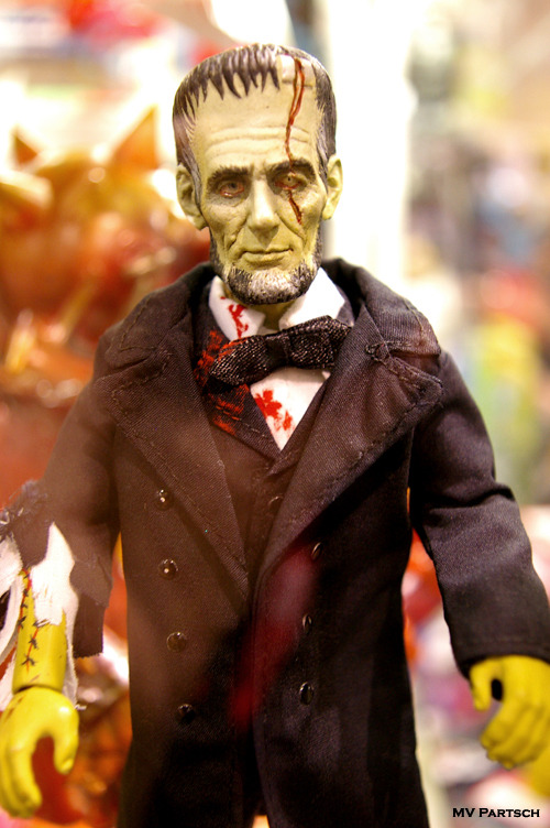 """Civil War Bad."" FrankenLincoln: 1862. Comic-Con. San Diego. 2010. Exhibit Hall West."