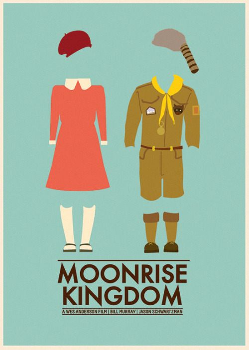 minimalmovieposters:  Moonrise Kingdom by Laura Perm-Jardin