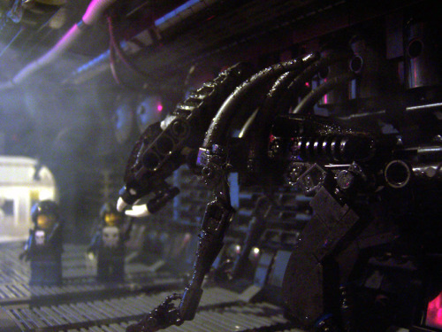 This guy made alien out of legos, he's probably insane. the good kind of insane, and awesome, but still… (via Brickshelf Gallery - aaalien_014.jpg)