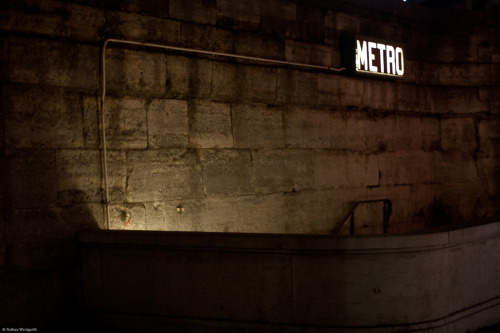 Metro entrance to Concorde‎ station, Paris