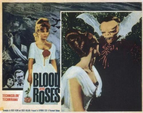 rcmerchant:  Lobby card for BLOOD AND ROSES (1960)