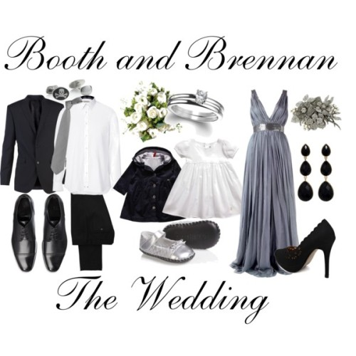 Booth & Brennan's wedding.  No I did not just sit here making this and listening to Adele and writing the entire episode in my head and sobbing, what are you talking about you can't prove anything