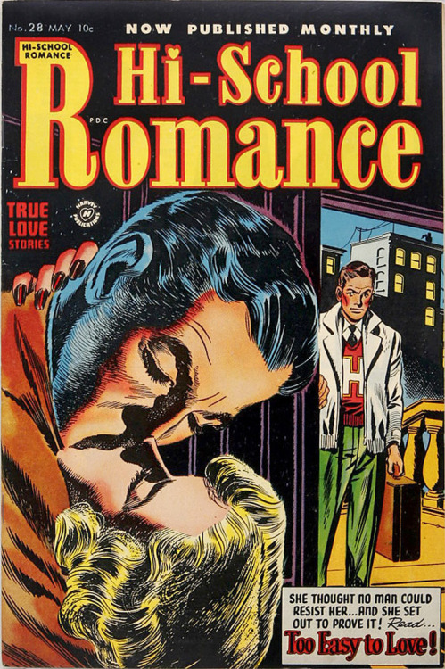 Hi-School Romance 28 cover by Warren Kremer (yeah the same artist that did Casper and Richie Rich)
