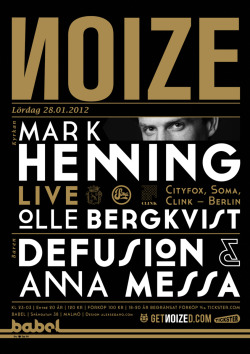 NOIZE with Mark Henning - new season (2012) by Alex Sedano