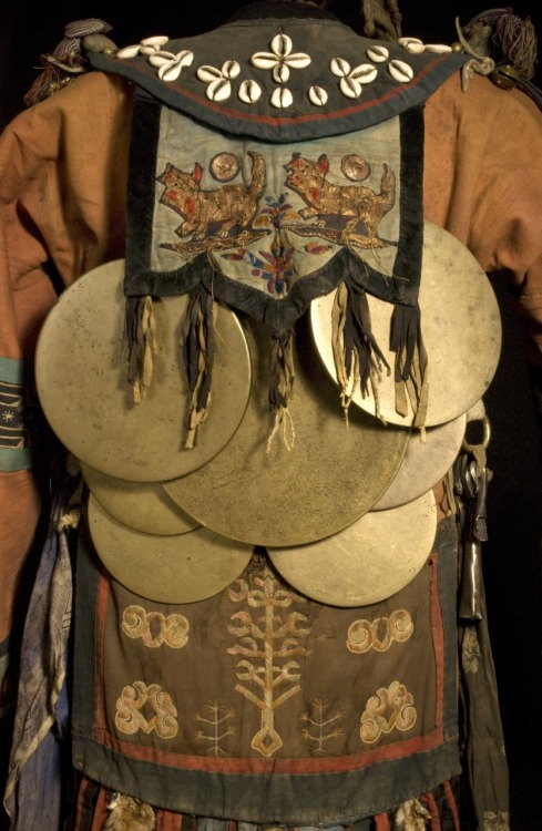 Shaman's coat, Mongolian.