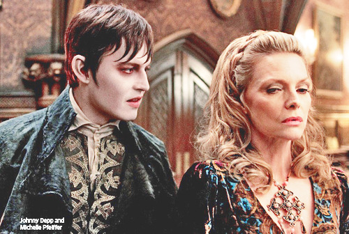 thefrakkintrinity15:  Promo pic of DARK SHADOWS (the next Tim Burton's movie)  @stellarmoneca @onlysugarcoated @debcupti …. omg <3