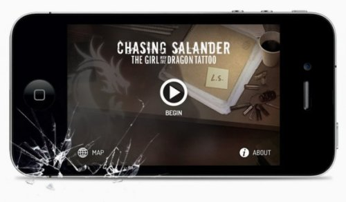 Not just a game or i-enhanced book, Chasing Salander gives an exceedingly well-known book a new story, for fans and those (three or four people) who haven't read the original. Chasing Salander: A New Chapter For Girl With The Dragon Tattoo