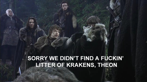 fucking theon greyjoy #GameOfThrones