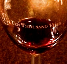 A Wonderful Evening Photo: Ten Thousand Vines Winery Wine and Chocolate Event 1/12/12. Karen Glosser http://tenthousandvines.com/