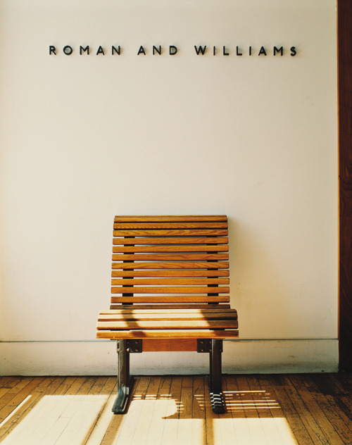 tokyo-bleep:  Roman and Williams