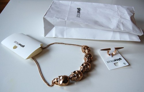 Skull Necklace (via ginatricot.com)