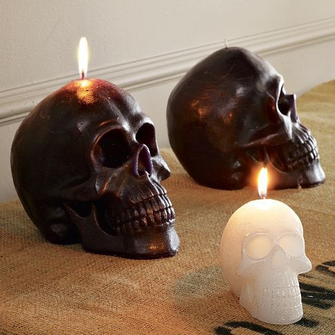 Skull Candles (via west elm)