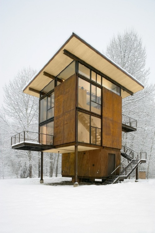 neako:  Olson Kundig Architects Delta Shelter