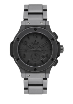 "tntoronto:  Hublot Big Bang Chronograph - ALL BLACK II a.k.a. ""BLACK HOLE"" - Special Limited Edition - 500 Pieces - JUST RELEASED!!!"