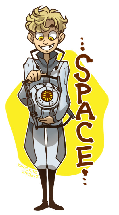 sssspace cooooreeee. everybody draws such cute versions of him. i drew this based almost entirely off one by disfigured stick. i just really love space core ok.