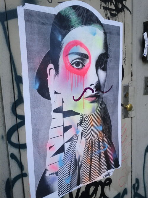 bcuhashtag:   Mixed Media Done Right Spotted Soho @W.Broad/Broome #LG