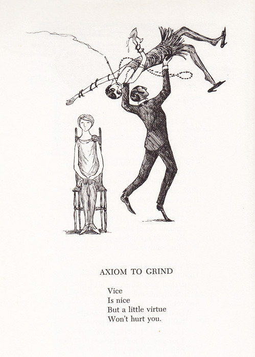 blua:  by Edward Gorey