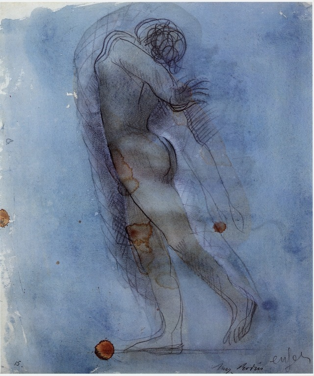 de.academic.ru  Auguste Rodin, Hell, c. 1900-1908, pencil and watercolor.