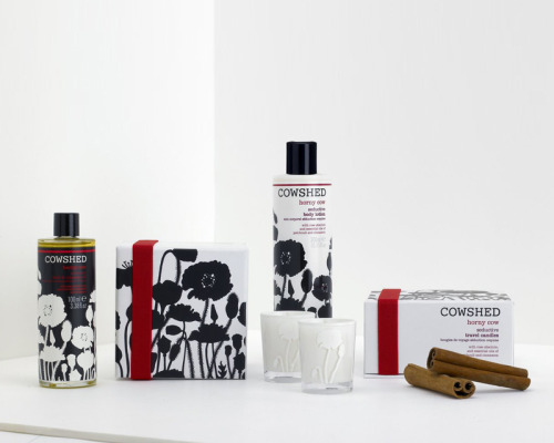 Cowshed Bath Products I fell in love with this line of products during my stay at the Soho House this week. Saucy Cow, Knackered Cow, and Horny Cow were my favorites!