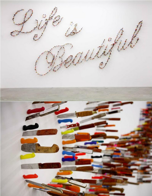 via urhajos:  'Life is Beautiful' by Farhad Moshiri