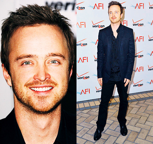 annperkins:  Aaron Paul @ the 12th Annual AFI Awards in  Beverly Hills, California (1/13/12)