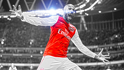 EPL Series - Arsenal Edição de imagem do atacante Thierry Henry, do Arsenal / Programa: Photoshop CS5 - Original image: bit.ly/xGH3nW | FULL HD Wallpaper Version: bit.ly/yzzIqR * Esta foto não é de minha autoria, apenas a edição - This photo is not of my own, just the edition.